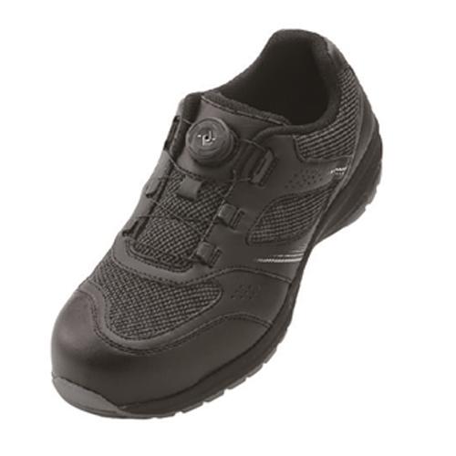 イグニオ 安全靴 ダイヤル IGS1018BK22.5