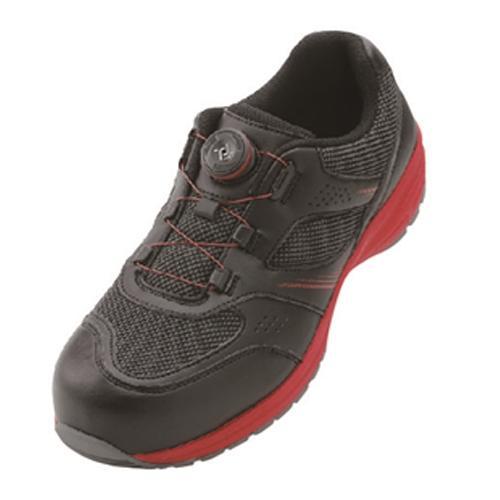 イグニオ 安全靴 ダイヤル IGS1018BKRD22.5