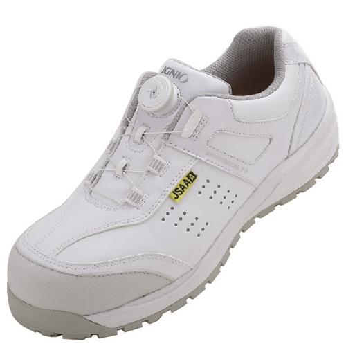 イグニオ 安全靴 ダイヤル IGS1047WH25.0