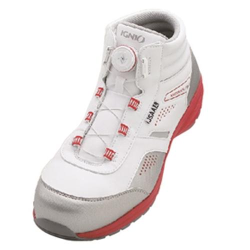 イグニオ 安全靴 ダイヤル IGS1058WH27.5