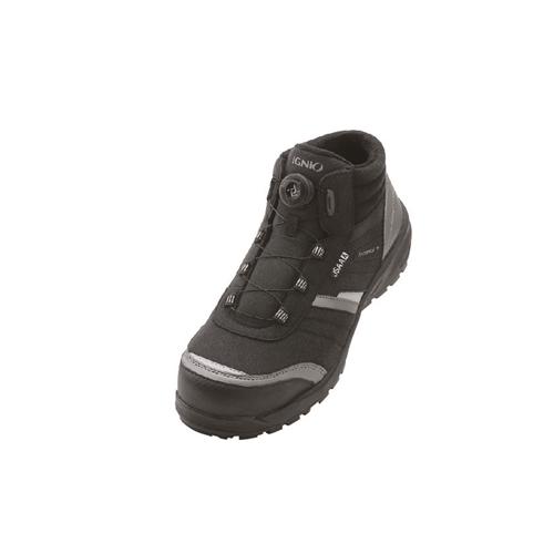 イグニオ 安全靴 ダイヤル IGS1258BK27.5
