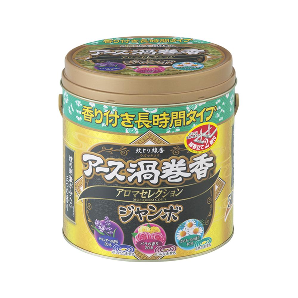 アース渦巻香 アロマセレクション ジャンボ50巻缶入