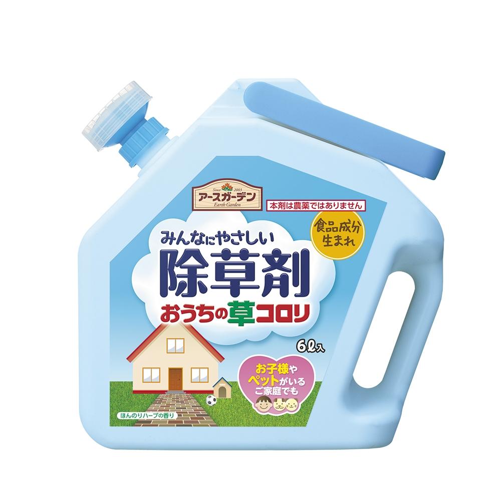 アース製薬(アースガーデン) おうちの草コロリ 6L(除草剤)
