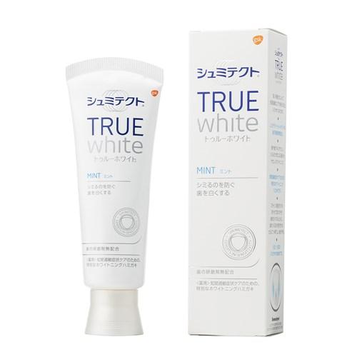 薬用シュミテクト トゥルーホワイト 研磨剤無配合 知覚過敏予防 歯磨き粉 80g