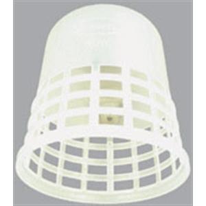 ポリ電球ガード 吊鐘形(白)