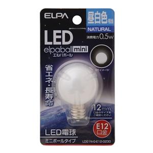LED電球G30 LDG1N−G−E12G230