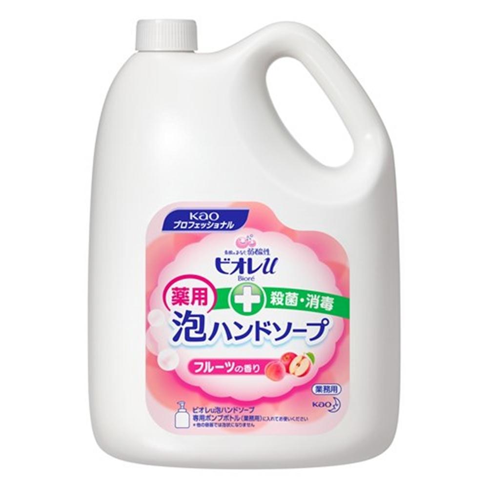 花王 ビオレu 泡ハンドソープ フルーツの香り 業務用