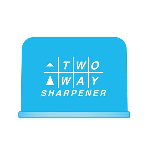 2WAYシャープナーライトブルー RS023LB