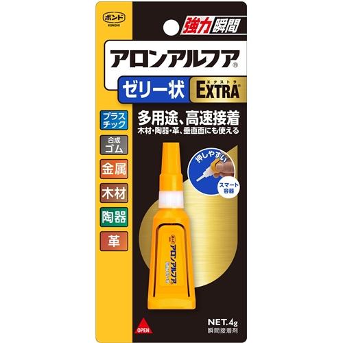 コニシ(Konishi)  アロンアルファゼリー状EXTRA4g