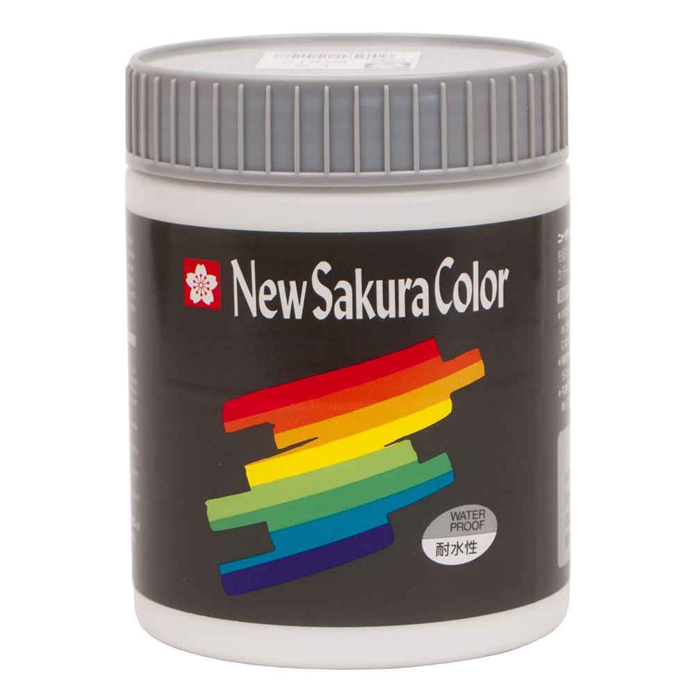 ニューサクラカラー600ml 白