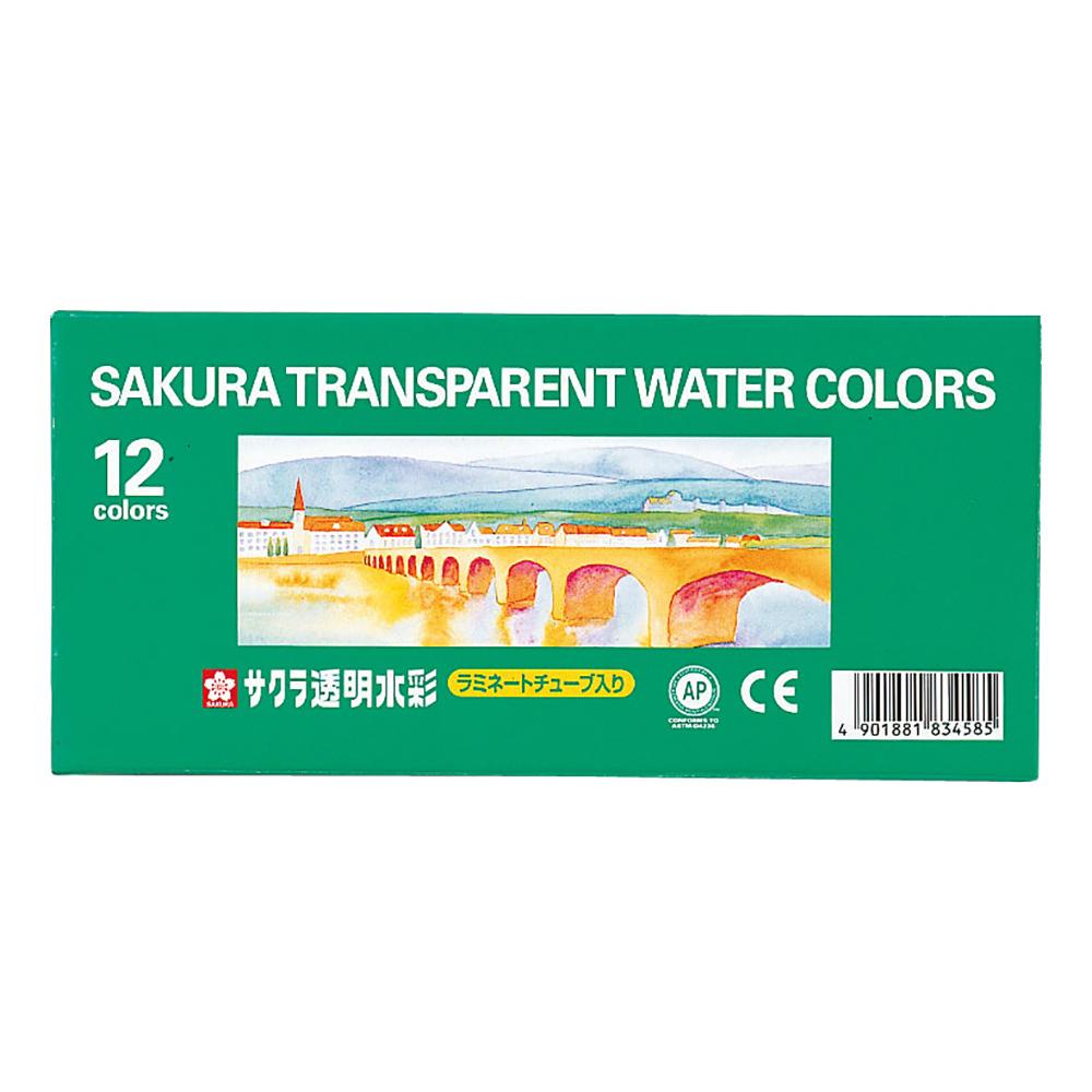透明水彩 12色 OW12