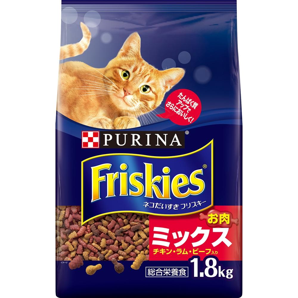フリスキードライお肉ミックス 1.8kg