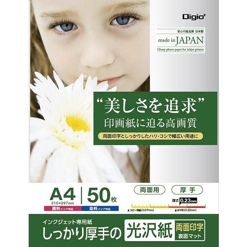 ナカバヤシ(Nakabayashi)  光沢紙PXA450枚JPPX−A4S−50
