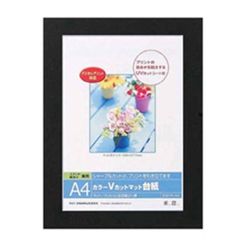 ナカバヤシ(Nakabayashi)  Vカットマット台紙 DGVM−A4D