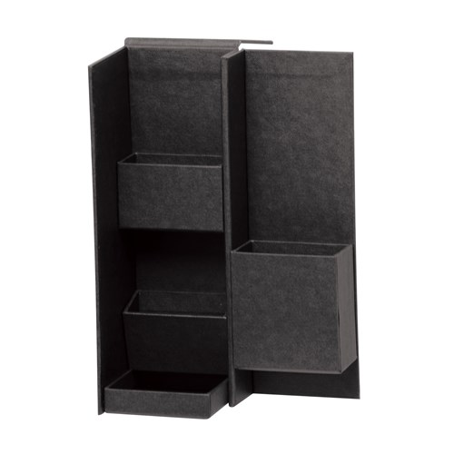 ナカバヤシ(Nakabayashi)  ライフスタイルツールボックス Sサイズ ブラック LST−B01BK