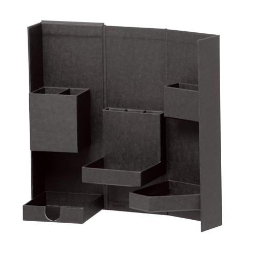 ナカバヤシ(Nakabayashi)  ライフスタイルツールボックス Mサイズ ブラック LST−B02BK