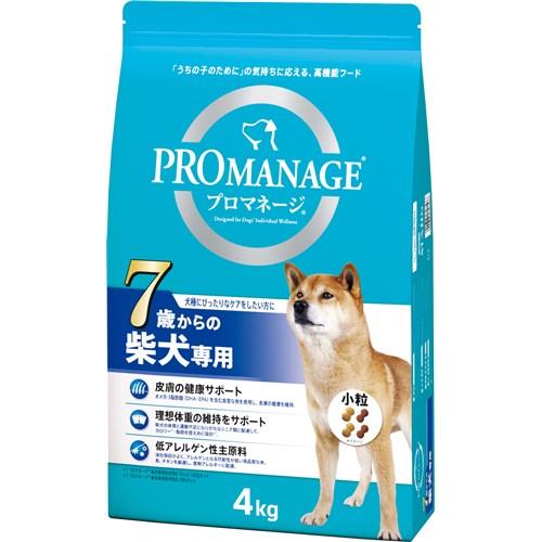 プロマネージ 7歳からの柴犬専用 4kg