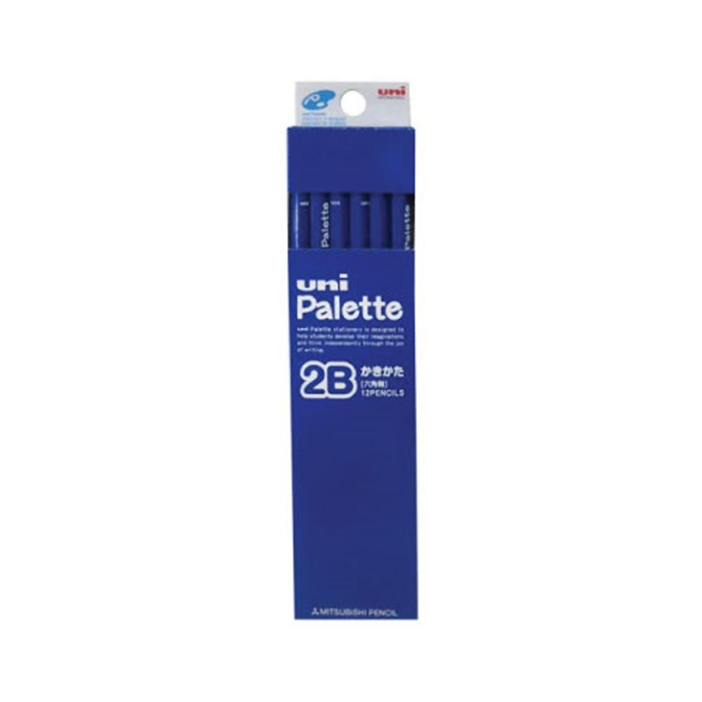 ダース鉛筆パレット 青2B