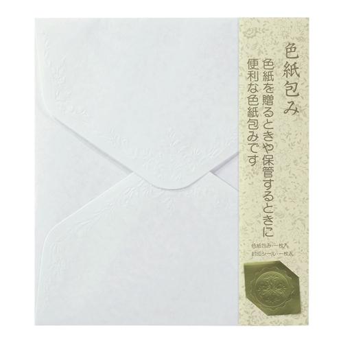 色紙包みホワイト