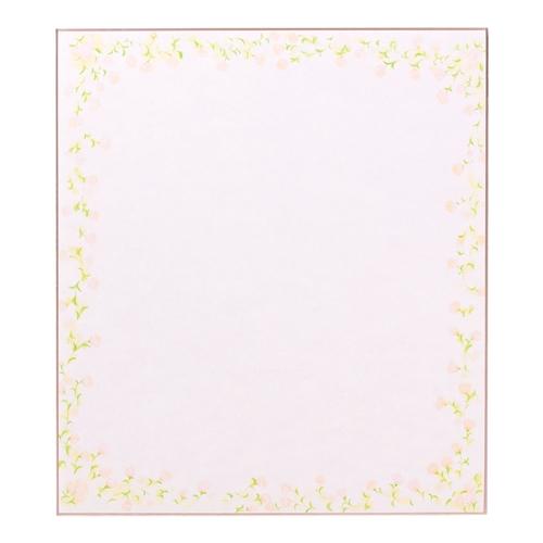 カラー色紙小花柄 ピンク 33122006
