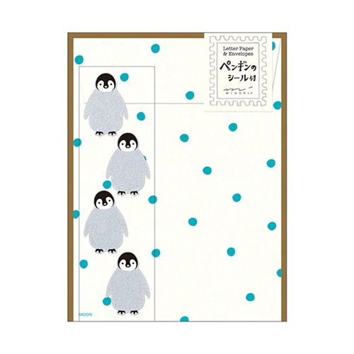 レターセット416ペンギン