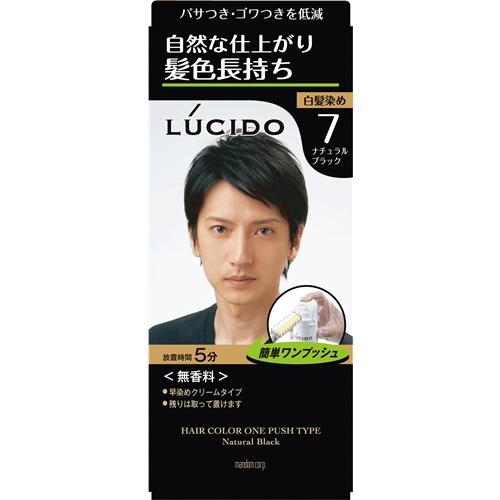 ルシード ワンプッシュケアカラー (医薬部外品) 7 ナチュラルブラック