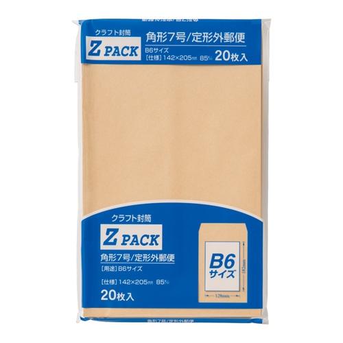 クラフト封筒角7 PK−Z7 85G