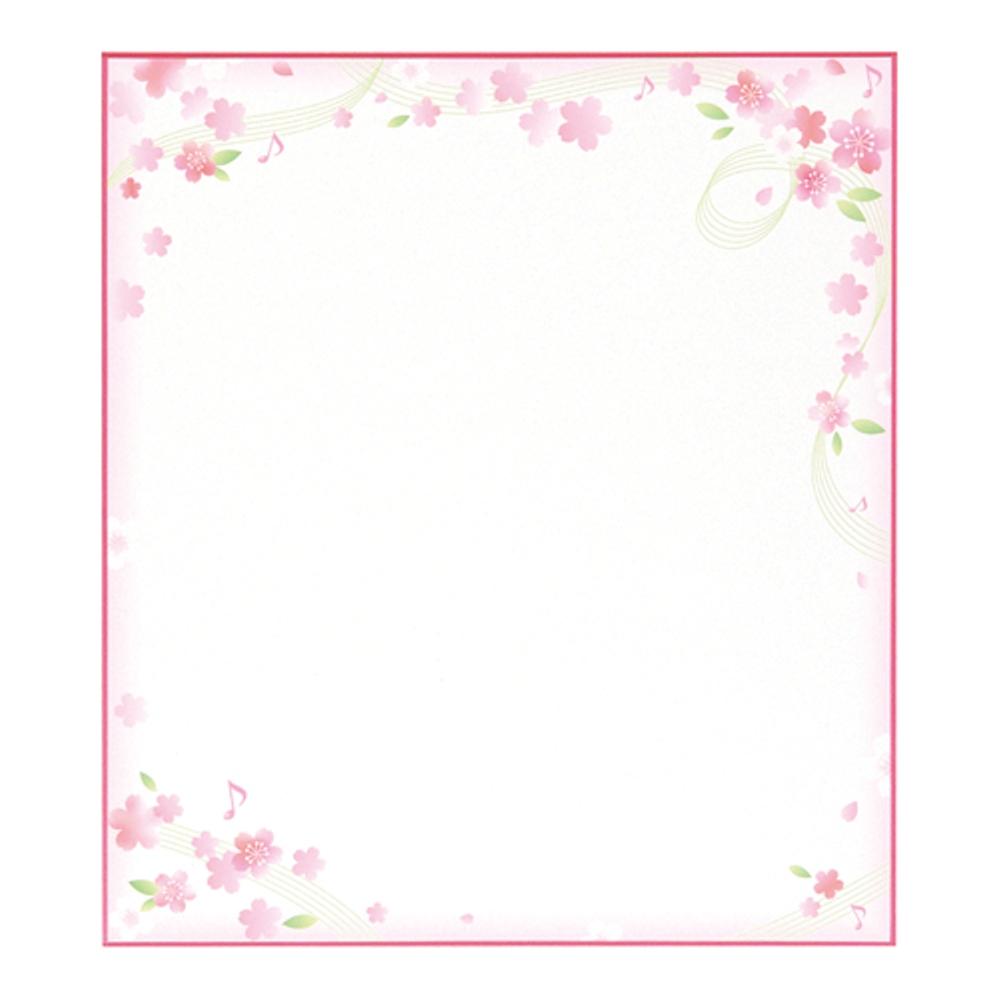 色紙 さくら シキシ−251