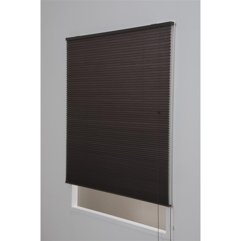 ハニカムシェード 約180×135cm ブラウン