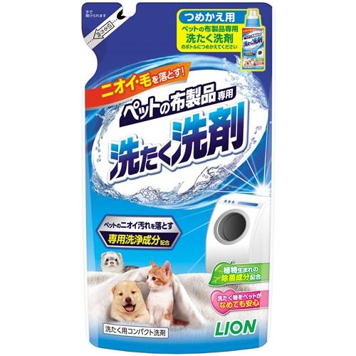 ペット布製品専用 洗たく洗剤 つめかえ用320g