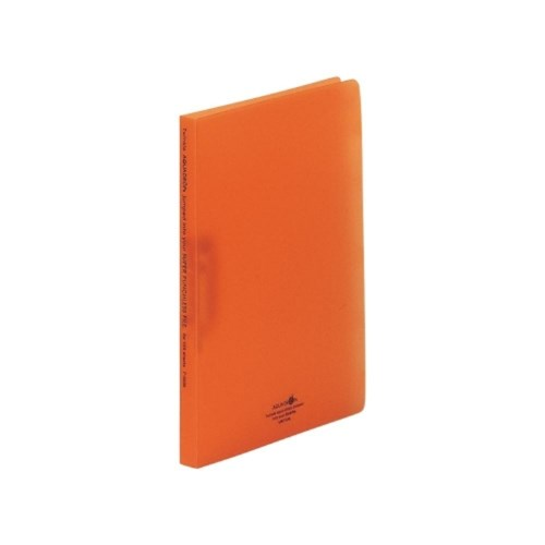 AQUADROPsスーパーパンチレスファイルA4・S型4橙F−5030