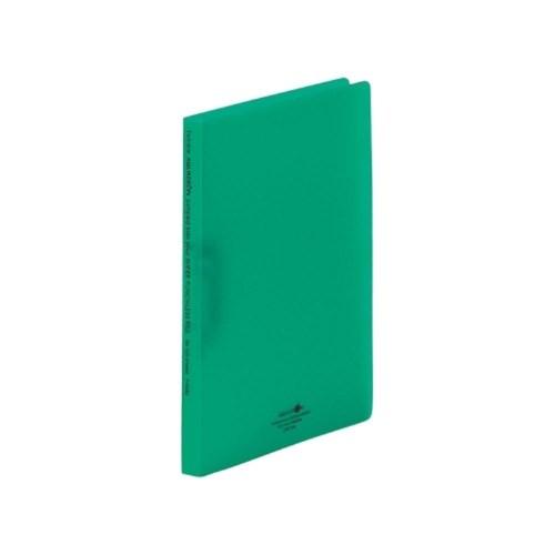AQUADROPsスーパーパンチレスファイルA4・S型7緑F−5030