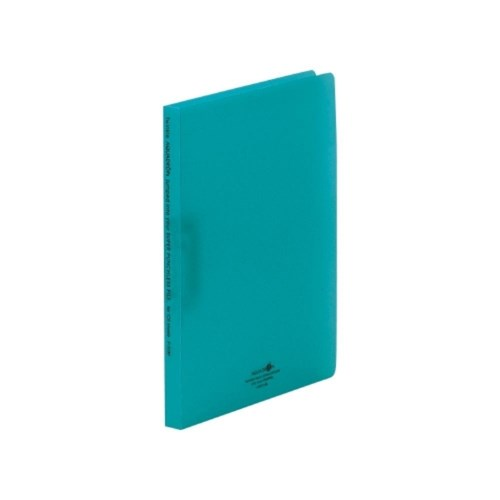 AQUADROPsスーパーパンチレスファイルA4・S型28青緑F−5030