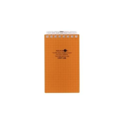 AQUADROPsツイストノート(メモサイズ)メモサイズ8穴4橙N−1661