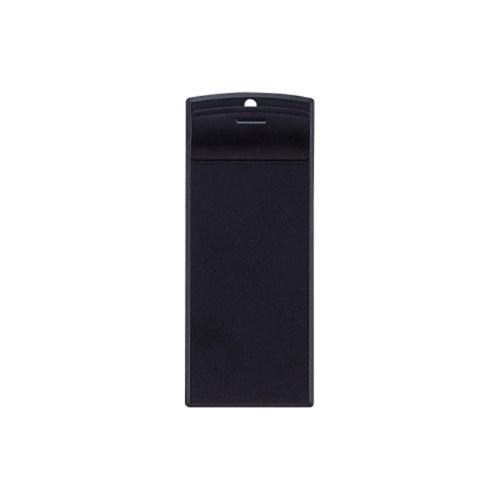 超薄型クリップボード88×200・E型24黒A−993