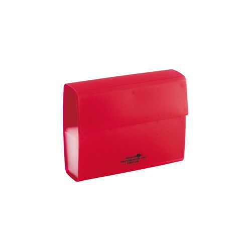 ポイントカードホルダ 赤 40枚A5013−3