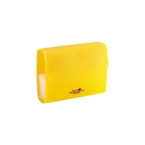 ポイントカードホルダ 黄 40枚A5013−5