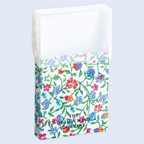 FLOWERIMAGEカードケース8青D1187