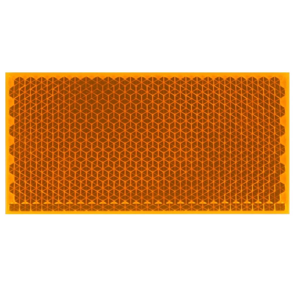 WAKI リフレクター(反射板) Z−31 100X50 Kオレンジ