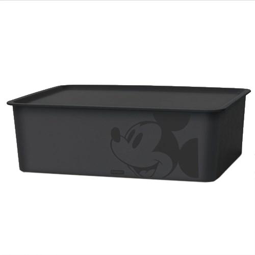 ミッキーマウス スクエアBOX ブラック
