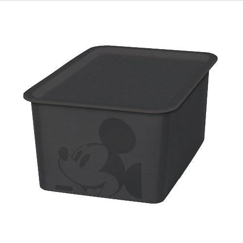 ミッキーマウス スクエアBOX ハーフ ブラック