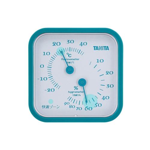 温湿度計 ブルー