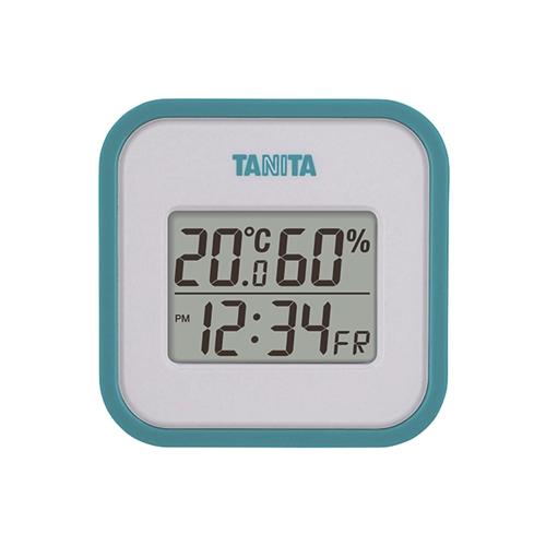デジタル温湿度計 TT558 ブルー