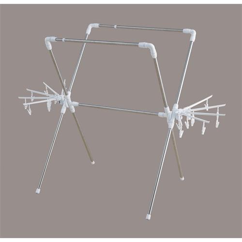 アイリスオーヤマ(IRIS OHYAMA) 簡単組み立て万能物干し KBH−230XR