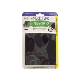 広巾マジックテープ CP-26 100mm×100mm 黒