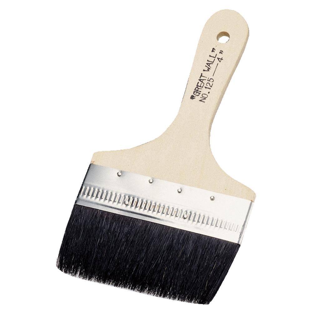 黒毛のり刷毛 90ミリ