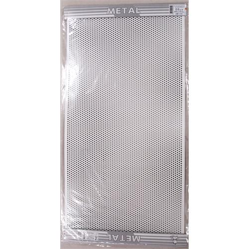 平板パンチメタル 白 K700 0.5X455X910MM