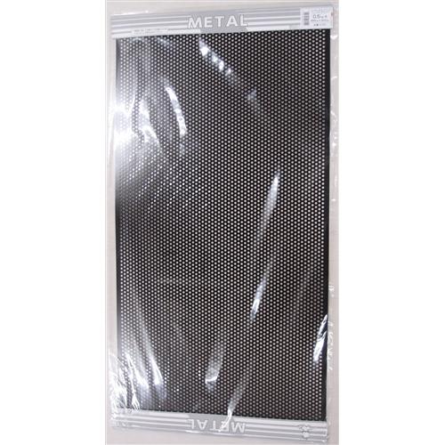 平板パンチメタル 黒 K701 0.5X455X910MM