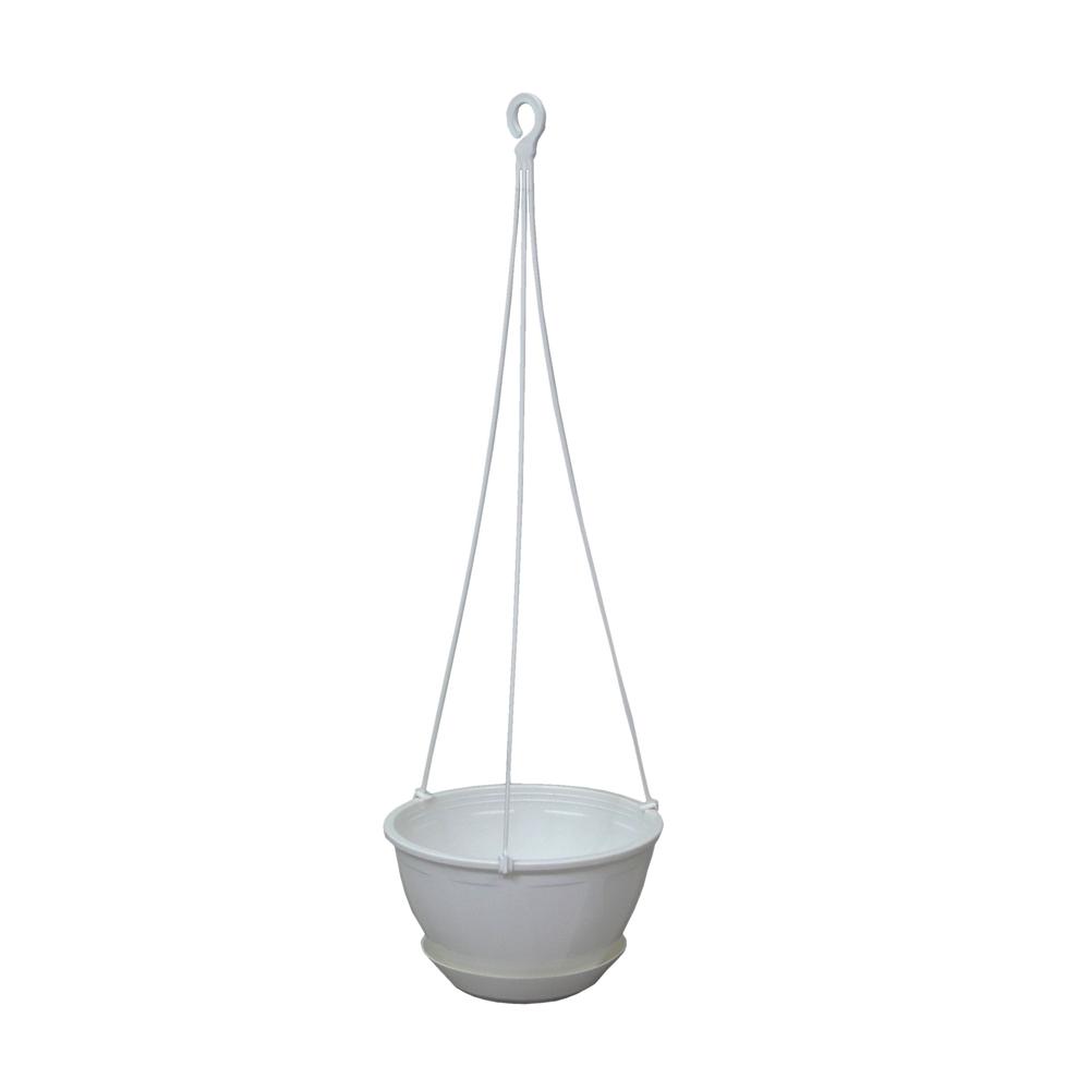 吊鉢6号 ホワイト