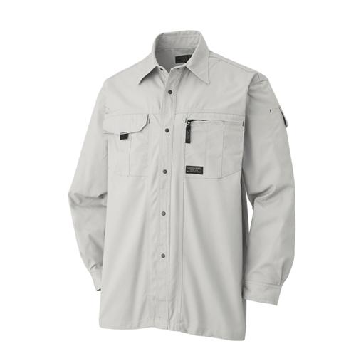 長袖シャツ 611−6 グレー L